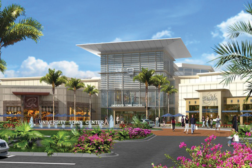 Saks Fifth Avenue will open a store at The Mall at University Town Center, which is slated to open October 2014. Courtesy photo.