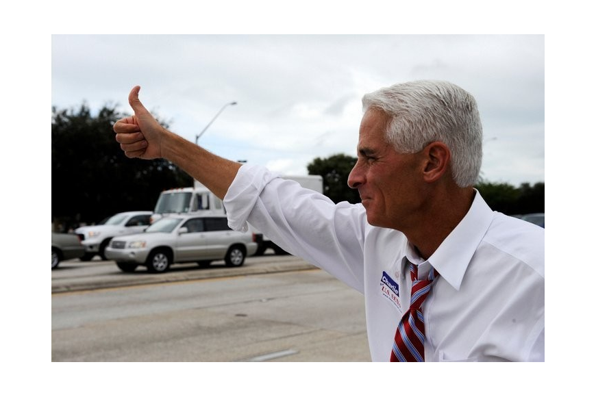 Former Florida Gov. Charlie Crist will make his first major speech as a registered Democrat. Courtesy photo.