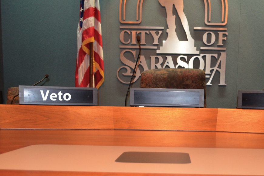 The big question is who will win the race to the veto seat during each meeting. Roger Drouin.