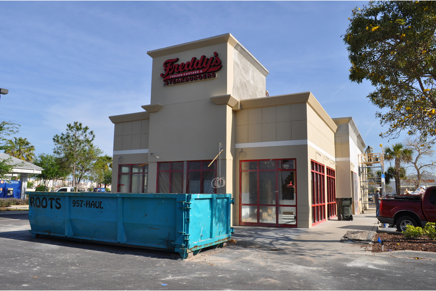 Freddy's offices said the store's opening is slated for late April.
