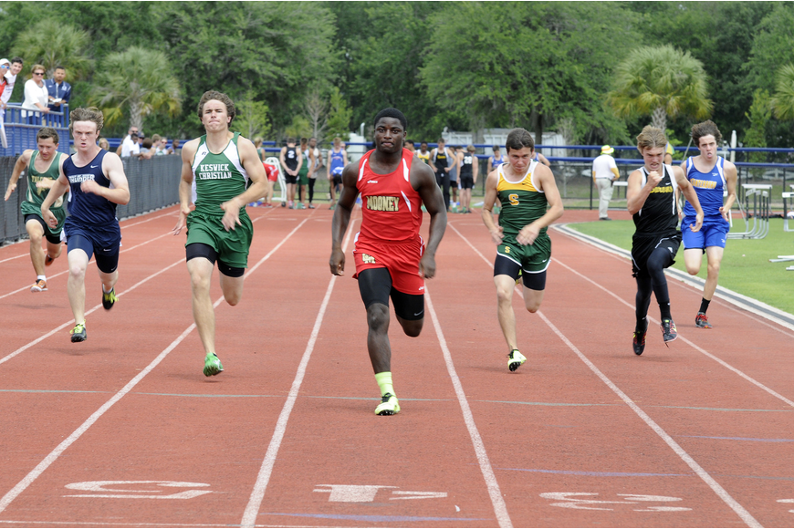 Cardinal Mooney junior Demardre Patterson finished as the district-runner up in the 100- and 200-meter dashes.