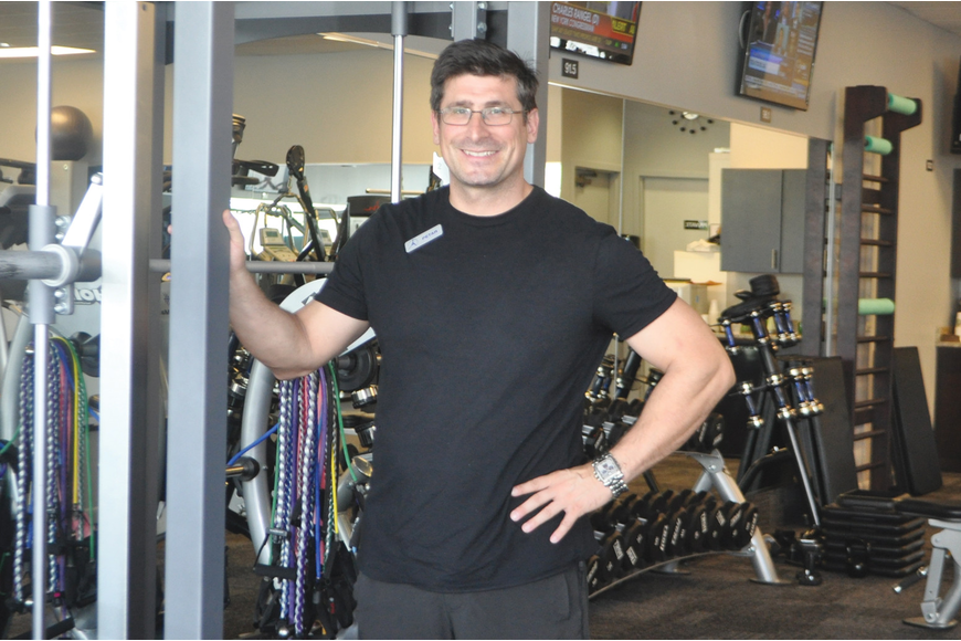 Petar Sibinkic, owner of Your Fitness Instructor, designed the new personal-training studio, which has new equipment, including six new cardio machines.