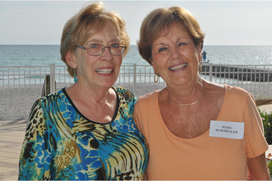 Jo Ann Nair and Mary Marthaler, event co-chairwomen