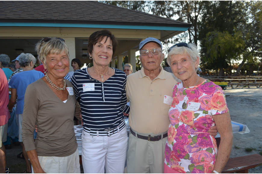 Bev Parker, Cynthia Dennis, Roy Lawrence and Marge Wright