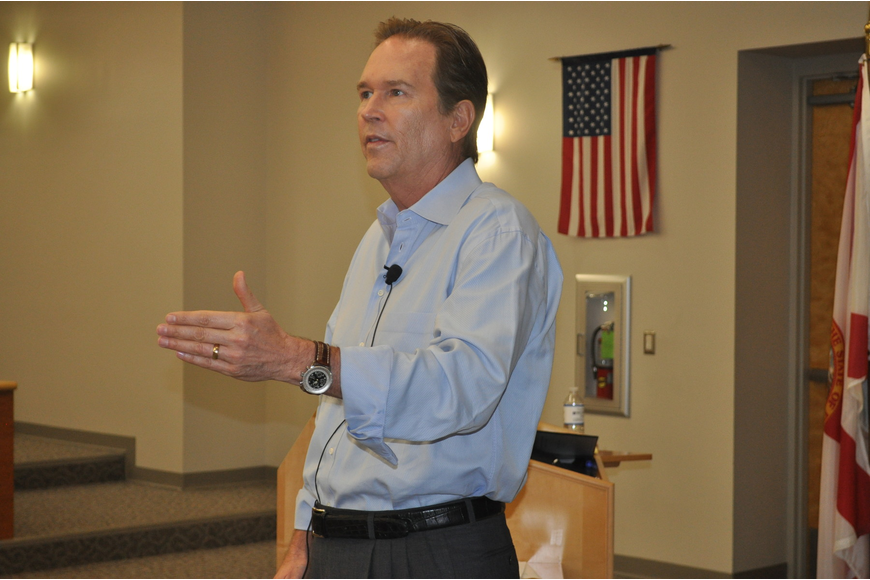 Rep. Vern Buchanan vowed during a discussion with the business community June 10, to make Florida the best place in the country to work and live.
