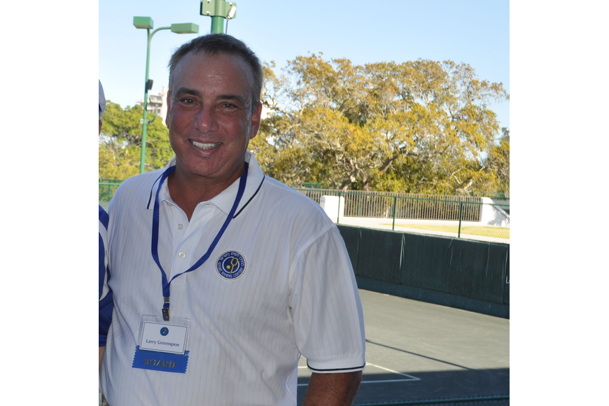 Larry Greenspon is international chair of the Israel Tennis Centers.