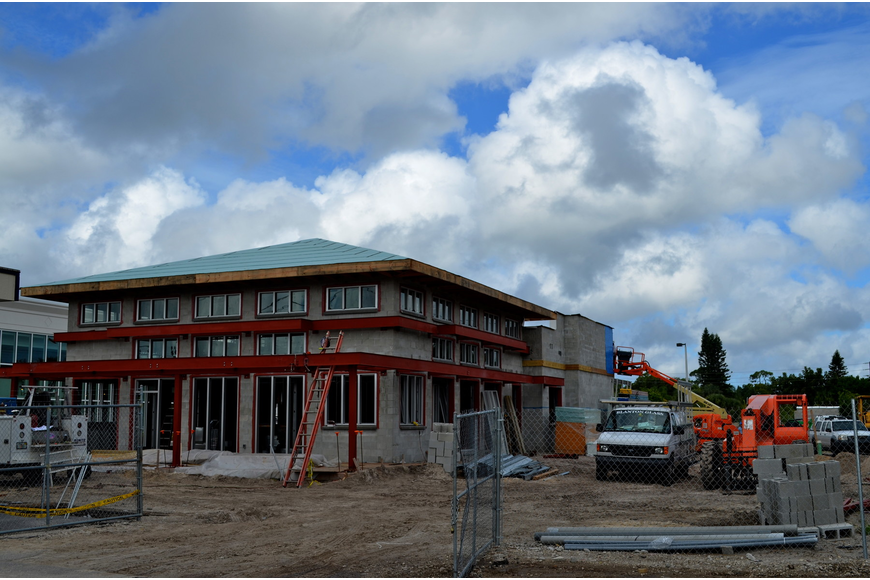 PDQ is currently constructing a new building at 5160 S. Tamiami Trail between Rooms to Go and the Sarasota County School Board offices.