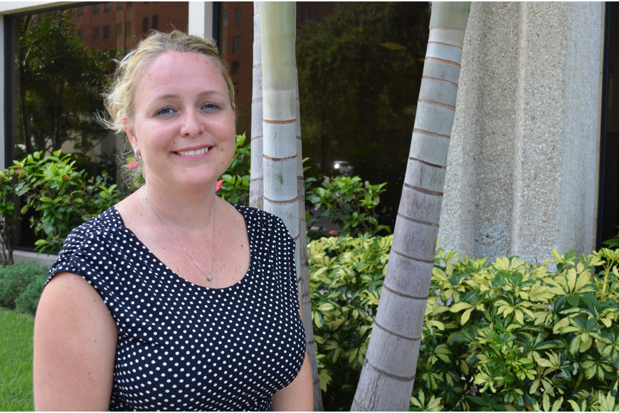 Nicole Rissler has been director of sports for Visit Sarasota County since September 2012.