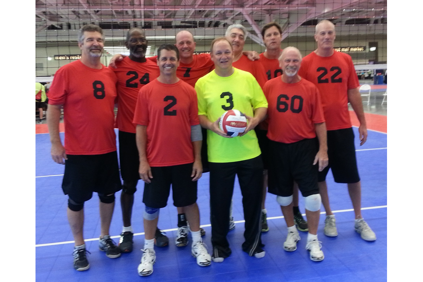 The Florida Men's 50+ volleyball team finished as the national runner-up to California at this year's National Senior Games.