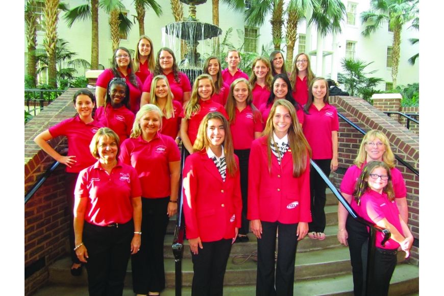 Manatee County middle- and high-school students participated in the 2013 Future Community Leaders of America (FCCLA) National Leadership Conference last month.