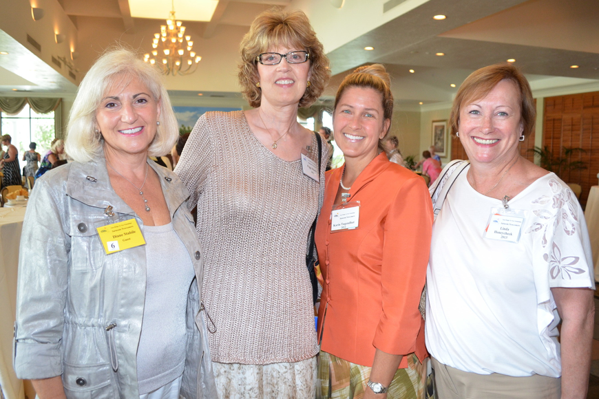 Diane Stabile, Peggy Morris, Katin Tugendhat and Linda Honeycheck