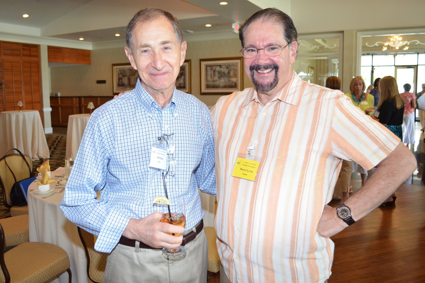 Bill Hatz and Barry Levin