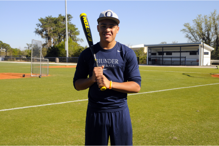 The Out-of-Door Academy junior Desmond Lindsay participated in the 2014 Power Showcase Home Run Derby.