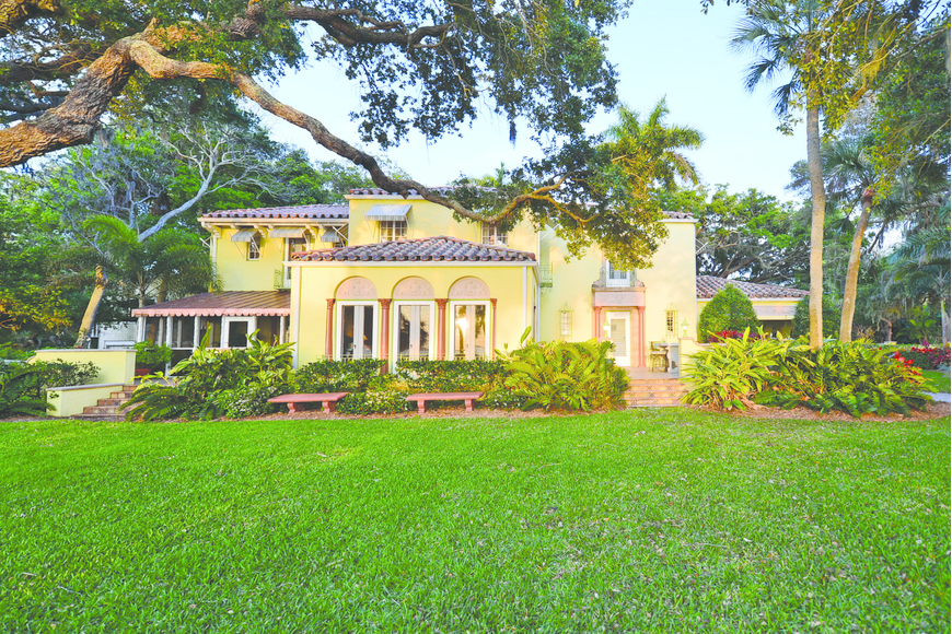 The spirit of the Ringling era lives on in a historic Indian Beach home.