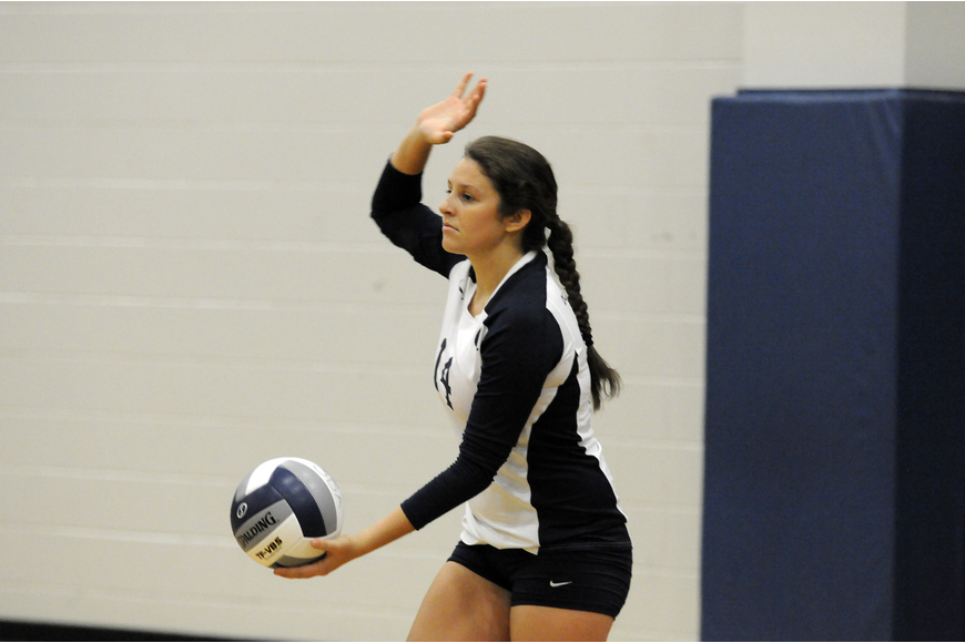 Taylor Albano led the way for ODA in its 3-0 victory over Imagine High School Sept. 12.