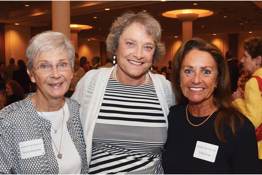 Norma Roembke, Sen. Nancy Detert and Linda Long. Photo by Yaryna Klimchak.