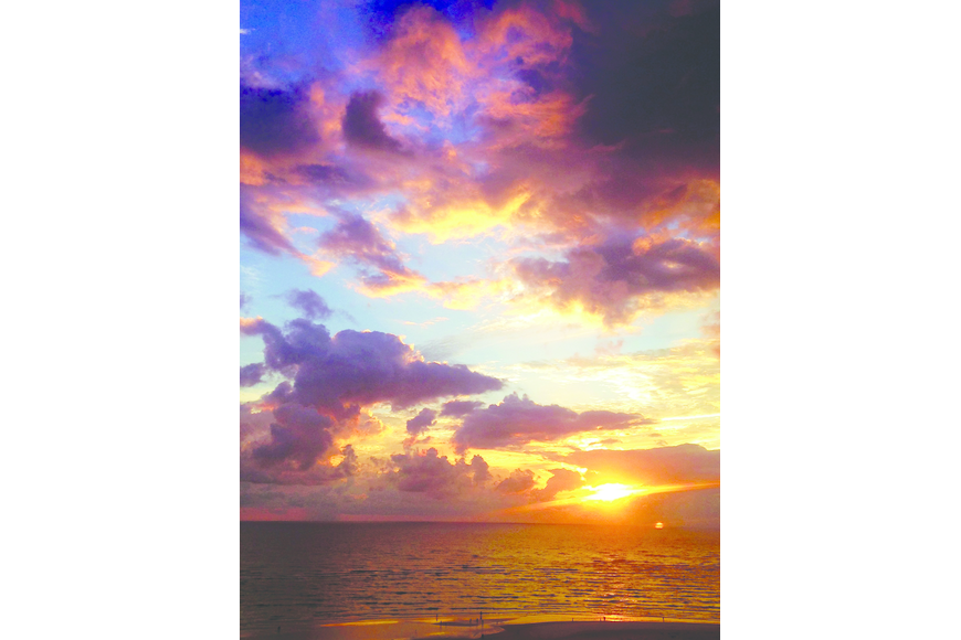 Deja Moore submitted this sunset photo, taken on Siesta Key.
