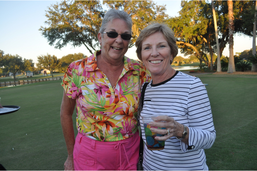 Judy Fischer recently moved in to Rosedale and met a new friend, Judy Sanford, who has lived there since 1995.