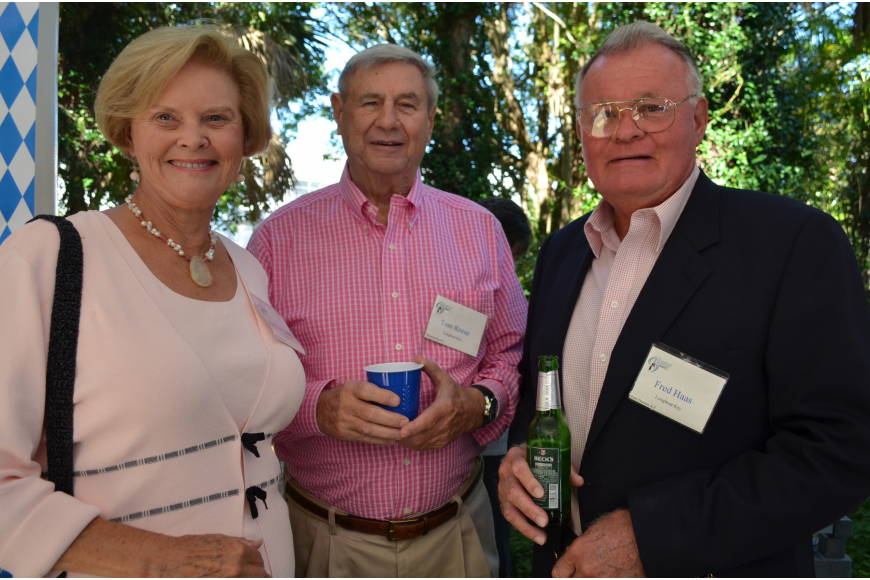 Betty Jo Haas, Tom Reese and Fred Haas