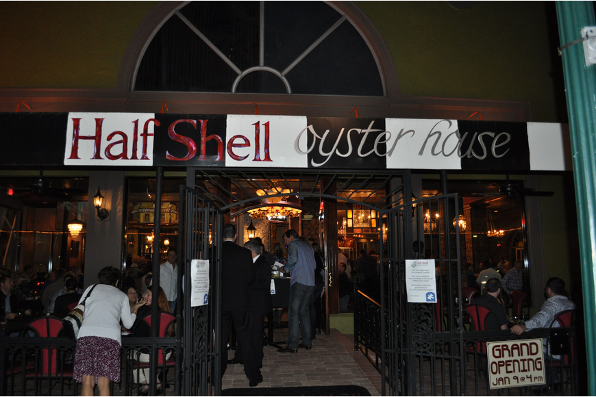 Half Shell Seafood House, formerly Half Shell Oyster House, moved from Main Street in Sarasota.