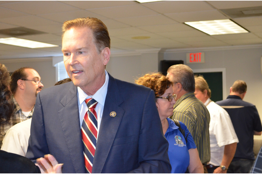 "Congressman Vern Buchanan, R-Longboat Key, said ""it's just not acceptable to lose your home over rising insurance costs"" last week at an insurance roundtable."
