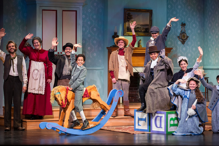 "Sarasota Youth Opera presents Benjamin Britten's ""The Little Sweep."" Photo by Rod Millington."