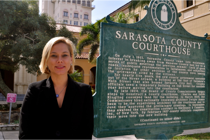 Erika Quartermaine, 35, of Sarasota, has been an assistant state attorney in the 12th Judicial Circuit Court since 2009.