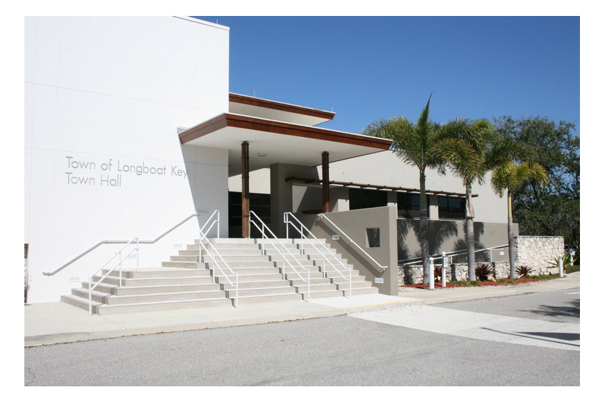 Town meetings take place at Longboat Key Town Hall, 501 Bay Isles Road. (Courtesy photo)