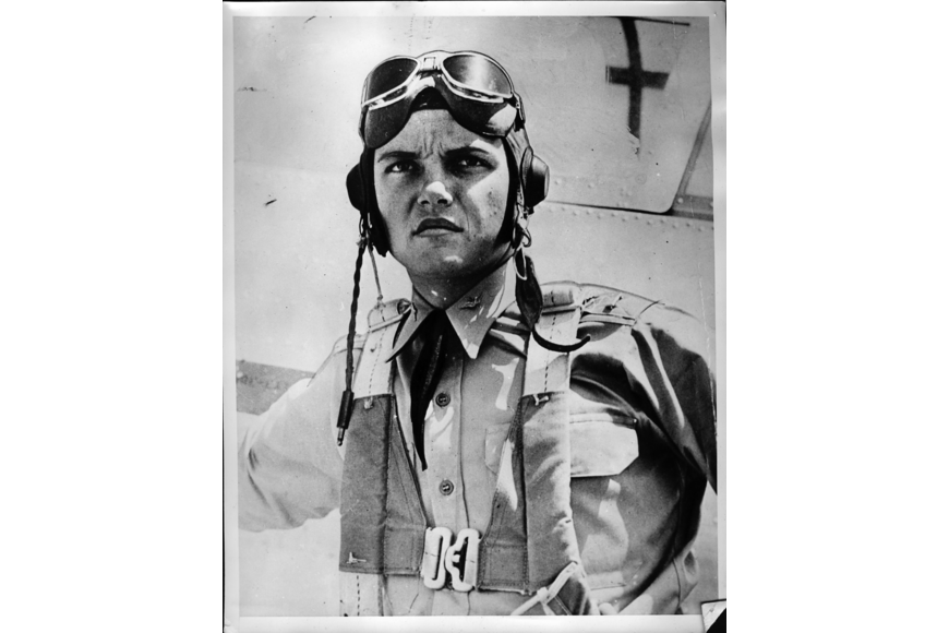 Army Air Corps pilot 1st Lt. James Edmundson in 1941 at Hickam Field before the attack