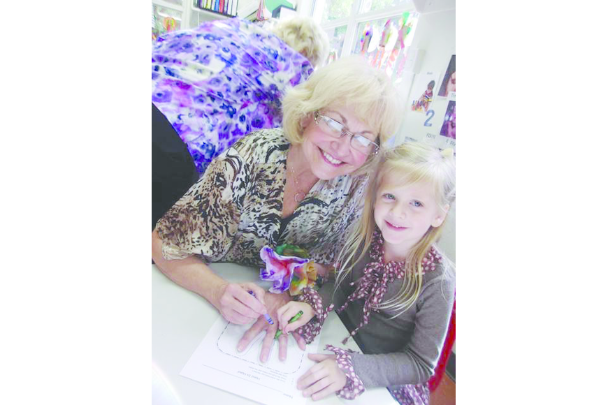 Courtesy photo. Sheila Conger with her granddaughter Madeleine