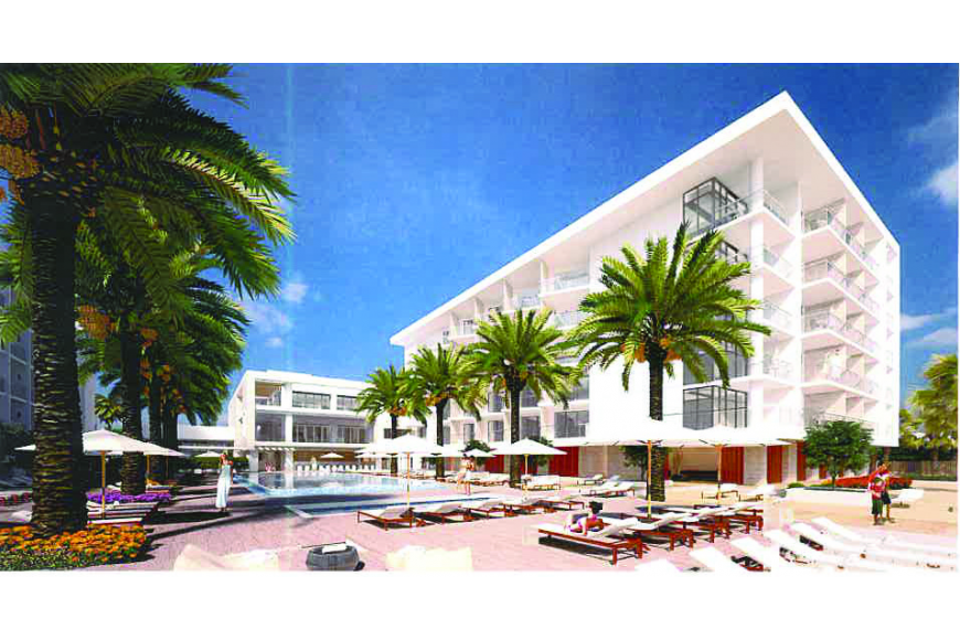 Courtesy rendering. The Longboat Key Hilton Beachfront Resort unveiled renderings for a new $30 million renovation-and-expansion project Tuesday.