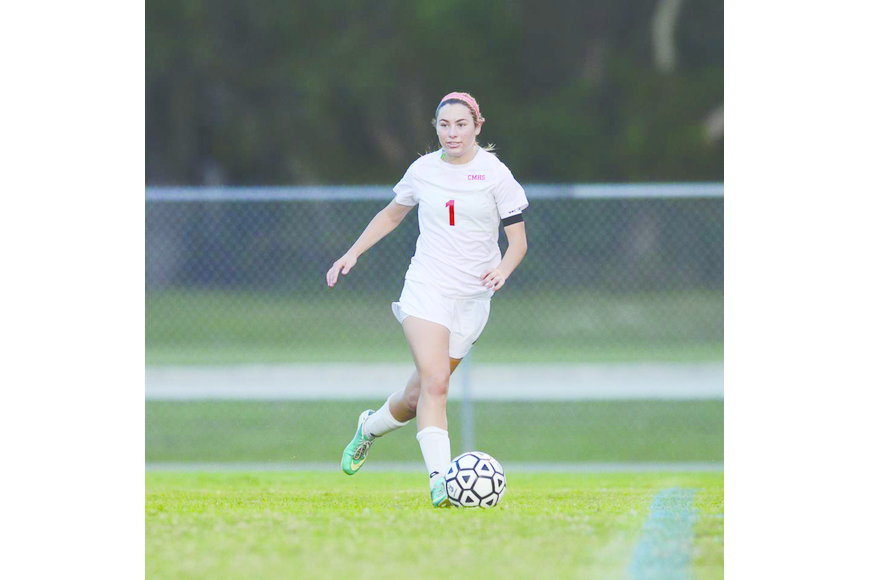 The Cardinal Mooney High girls soccer team blanked DeSoto 8-0 in district action Dec. 12.
