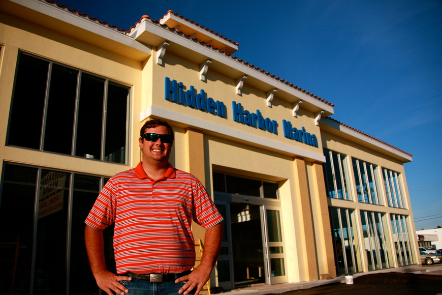 Spencer Dunford, general manager of Hidden Harbor Marina.