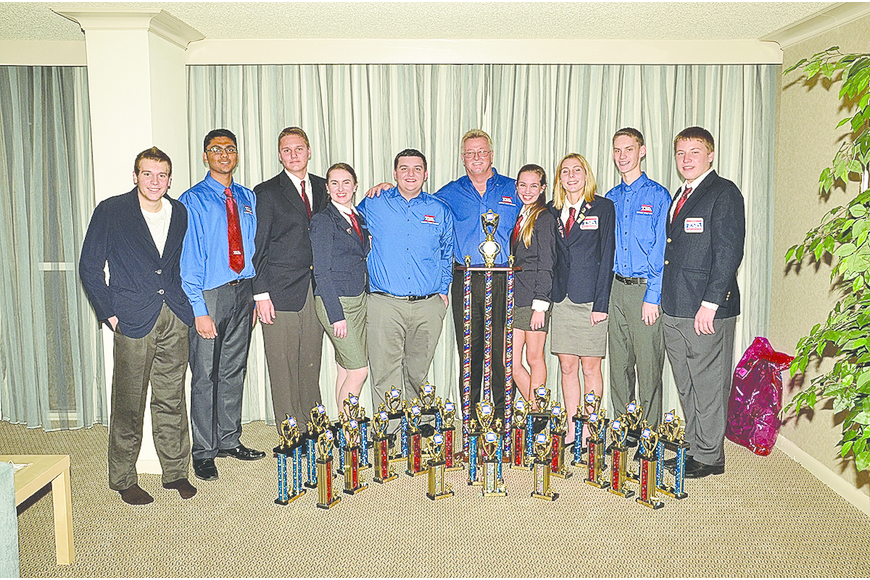Braden River High School's TSA team took first place for the third consecutive year.