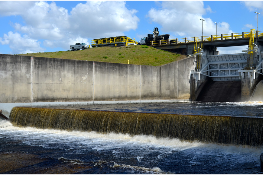 The Lake Manatee Dam provides drinking water to more than 300,000 residents in Manatee and Sarasota counties.