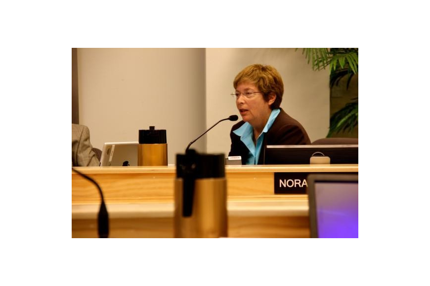 Sarasota County Commissioner Nora Patterson, chairwoman of the Tourist Development Council, moved to approve more funding for Visit Sarasota County Wednesday.