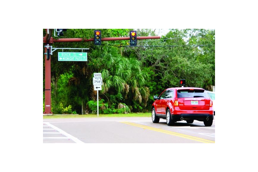 The Florida Department of Transportation maintains Midnight Pass Road and Stickney Point Road on Siesta Key.