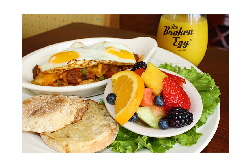 Family-owned and operated, the Broken Egg has been a breakfast, lunch and cocktail tradition since 1985.