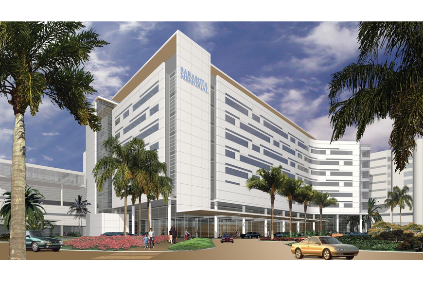 Sarasota Memorial Hospital unveiled its new $250 million Courtyard Tower last year.