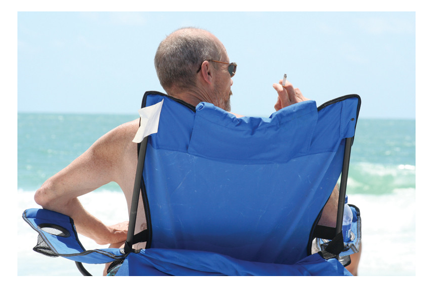A smoking ban at county beaches has resulted in 21 citations being issued from Jan. 1 to Sept. 17.