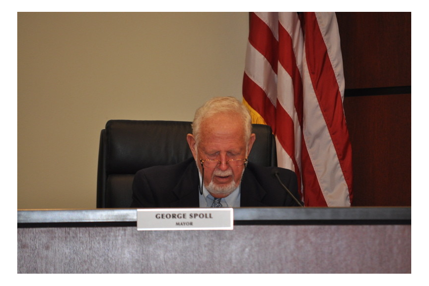Mayor George Spoll and other commissioners expressed concern with the Firefighters Pension Board's decision to pay $50,000 for a pension analysis.