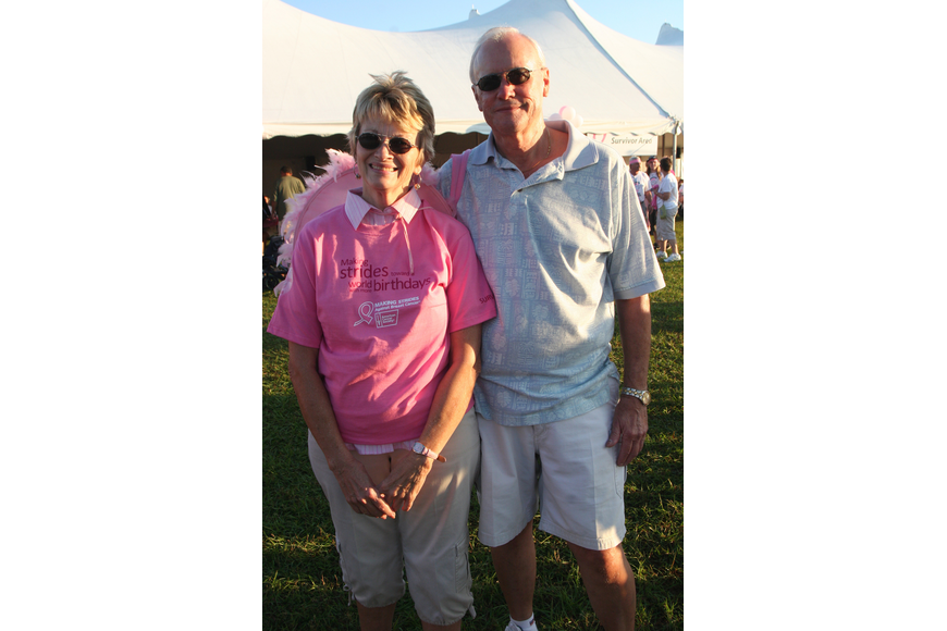 Breast cancer survivor Cheryl Graham and her husband, Gary, live in GreyHawk Landing.