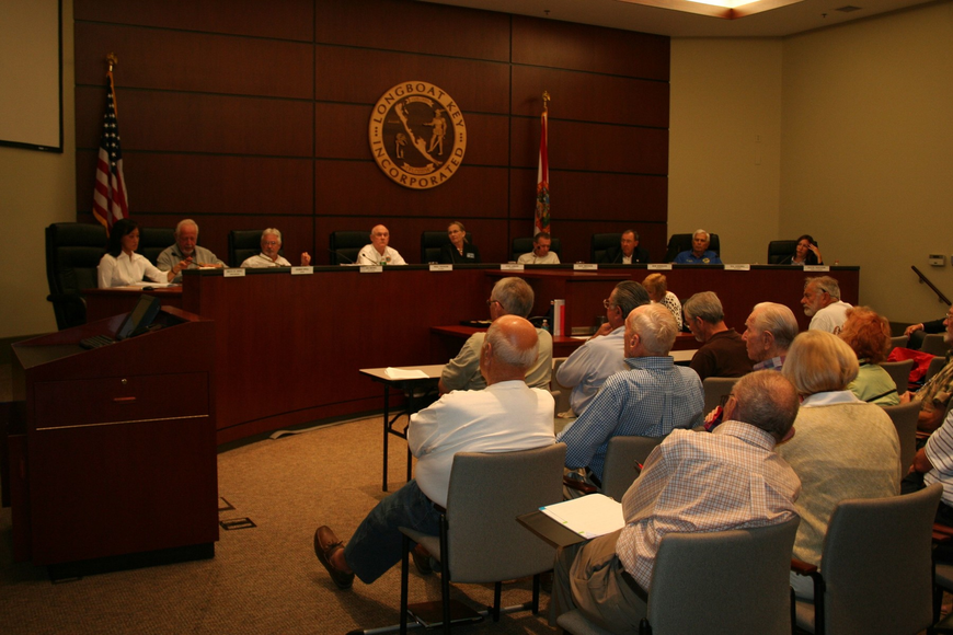More than 40 people attended a Longboat Key Vision Plan special meeting to express their opinions on the revised plan.