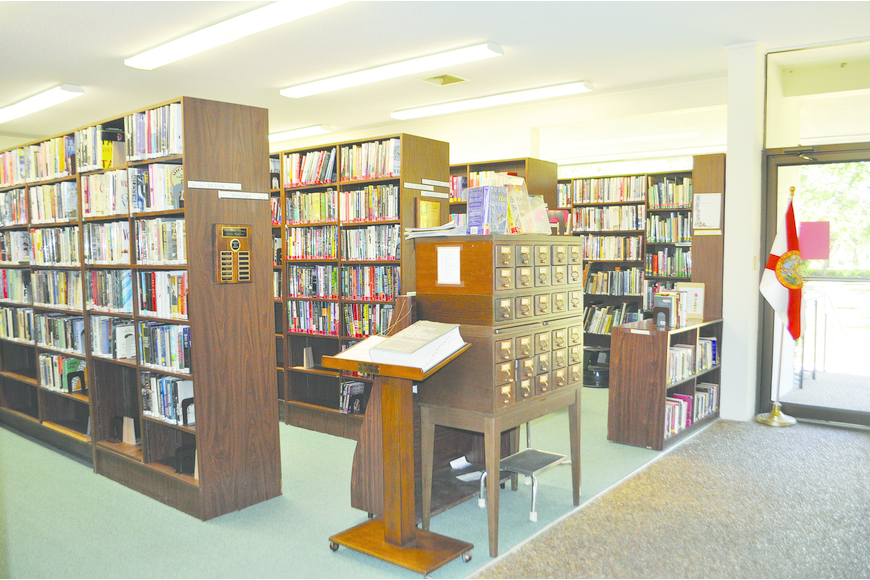 The Longboat Library currently has 18,000 to 20,000 titles in stock, including fiction and non-fiction, mysteries, biographies and a collection of audio books.