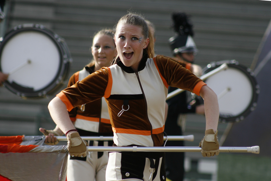 Grace Huston was excited to perform at this year's FMBC championships.
