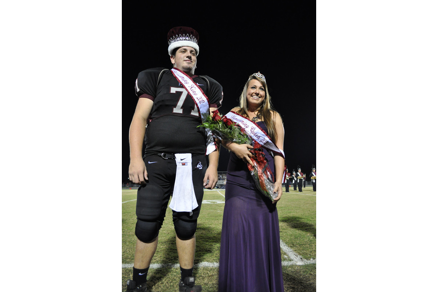 Michael Pulawski and Veronica Colombaro were crowned Homecoming King and Queen.