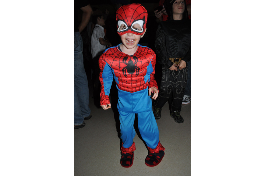 Bryce Albritton, 5, danced the night away.