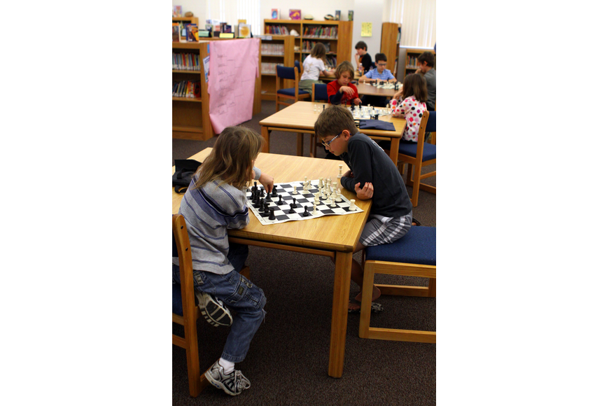 The Phillippi Shores Chess Club competed in the Tournament of Hearts, Saturday, Feb. 11, in the library at Phillippi Shores Elementary.