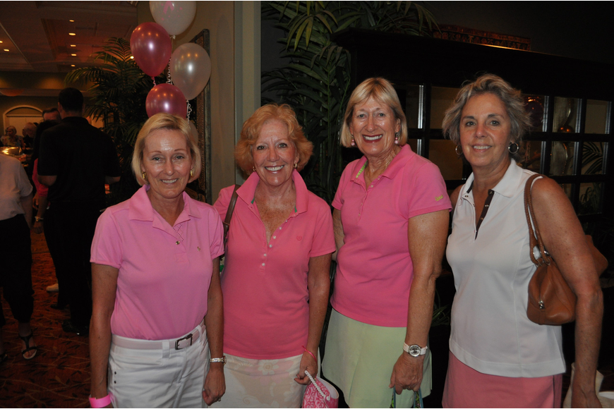 Bonnie Orr, Barbara Carteon, Susie Battly and Susan Biondolillo