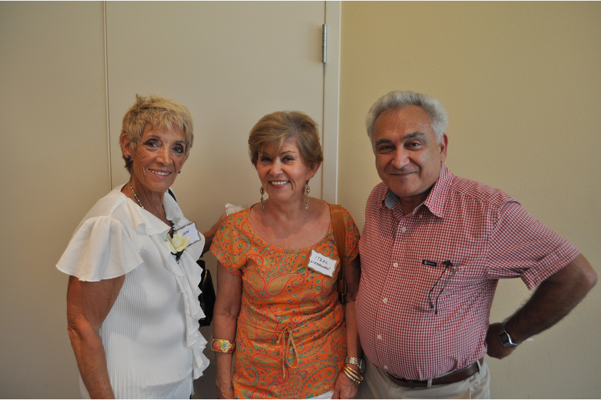 Sharon Oper, Itzel Lieberman and Zvi Rogovin